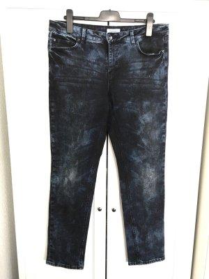 Acid Skinny Jeans Gr. 44/46 - dunkelblau