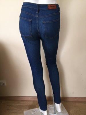 Acne Vaquero skinny azul oscuro