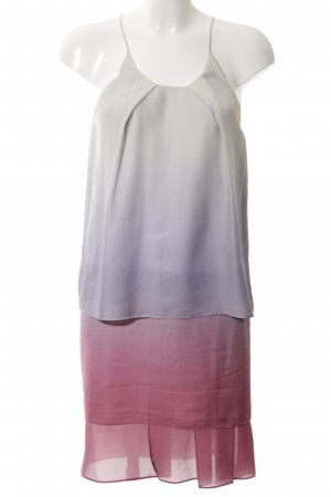 Acne A Line Dress lilac-red color gradient party style