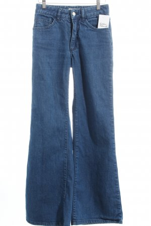 Acne Boot Cut Jeans blau Casual-Look