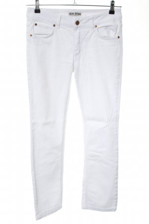 Acne Boot Cut Jeans white casual look