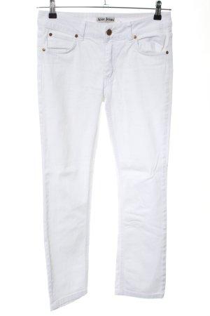 Acne Jeans svasati bianco stile casual