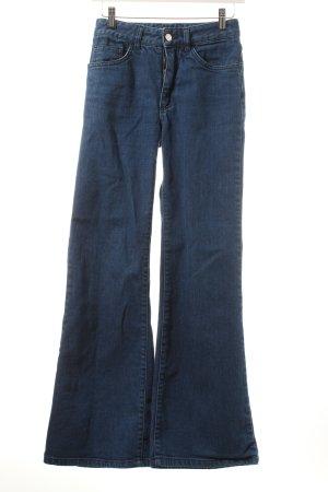 Acne Boot Cut Jeans stahlblau Casual-Look