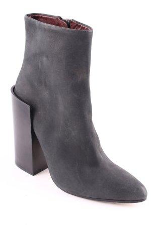 Acne Booties schwarz minimalistischer Stil