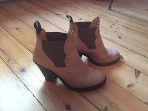 Acne Boots Star nude cognac