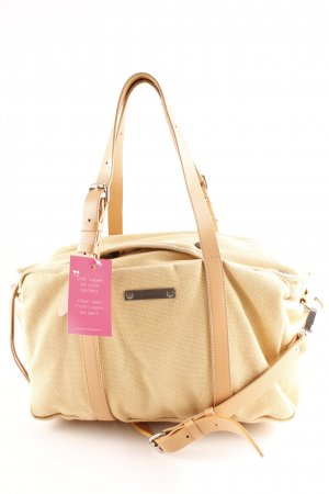 Acne Bowling Bag beige-dark yellow casual look