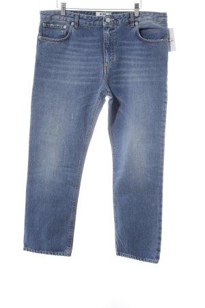 Acne Jeans boyfriend bleu clair style décontracté
