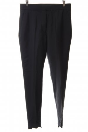 Acne Bundfaltenhose schwarz Business-Look