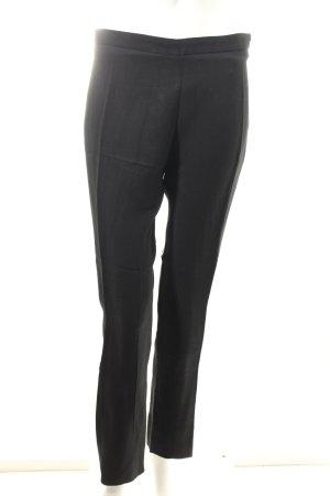 Acne Pantalone a pieghe nero stile classico