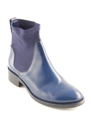 Acne Chelsea laarzen blauw-zwart casual uitstraling