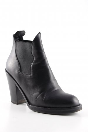 Acne Chelsea Boots schwarz Casual-Look