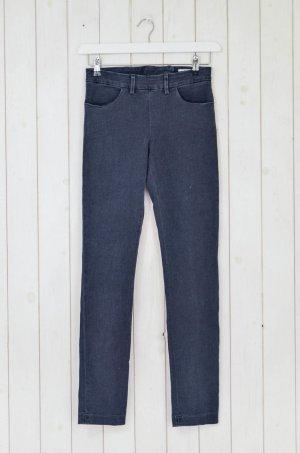 Acne Jeans skinny grigio scuro Cotone