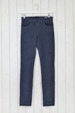 Acne Jeans skinny grigio scuro-antracite Cotone