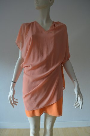 Acne Godess-Kleid Apricot Gr. 34