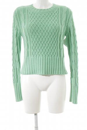 Acne Grobstrickpullover mint Casual-Look