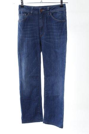 Acne Jeans a vita alta blu stile casual