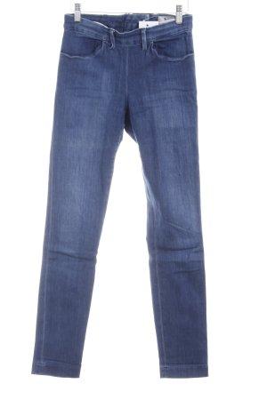 Acne Jeans taille haute bleu