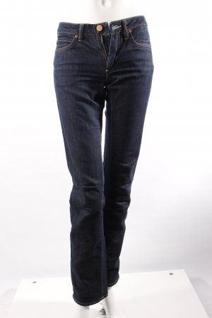 Acne Hüft-Jeans dunkelblau