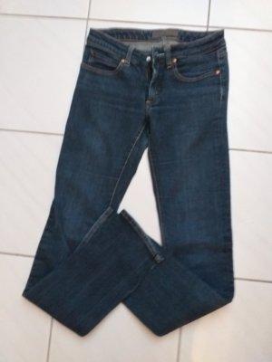Acne Skinny Jeans dark blue