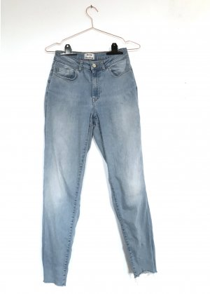 Acne Slim Jeans azure cotton