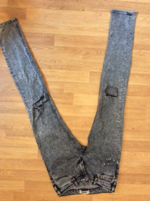 Acne Skinny Jeans white-blue