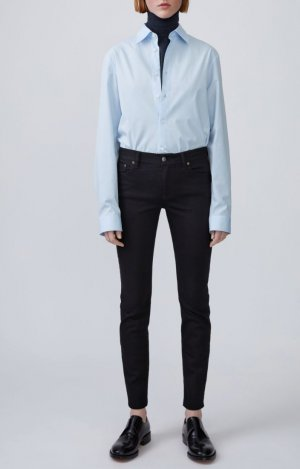 Acne Spijkerbroek zwart