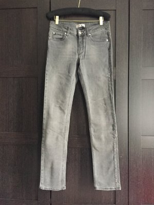 Acne Jeans Denim Straight cut 28 32 grau grey