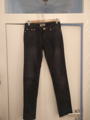 Acne Straight Leg Jeans dark blue