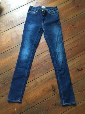 Acne Spijkerbroek blauw