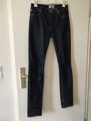 Acne Stretch Jeans dark blue-blue