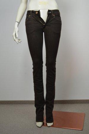 Acne Jeans, Gr 25, Braun, NEU