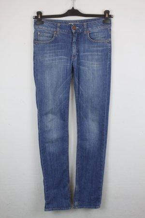 Acne Jeans bleu acier-bleu azur coton