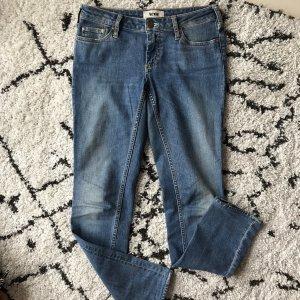 Acne Jeans skinny bleuet-bleu acier