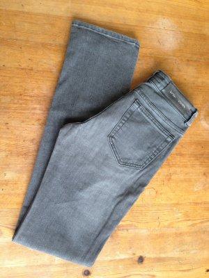 Acne Jeans grigio chiaro Cotone