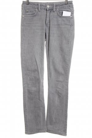 Acne Jeans Jeans slim fit grigio stile casual