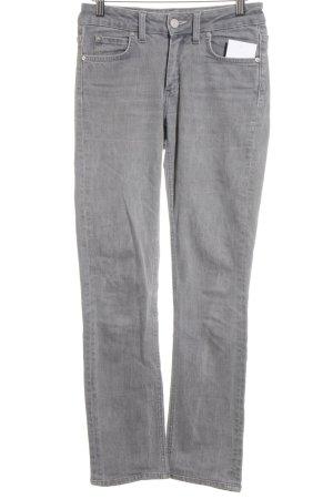Acne Jeans slim fit grigio