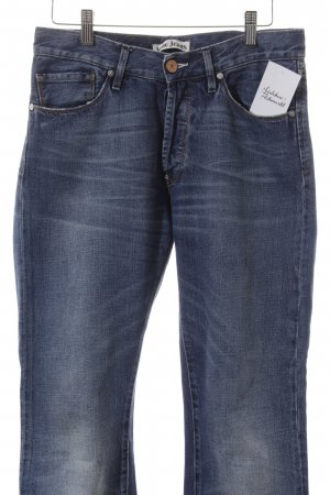 Acne Jeans Straight-Leg Jeans blau Casual-Look