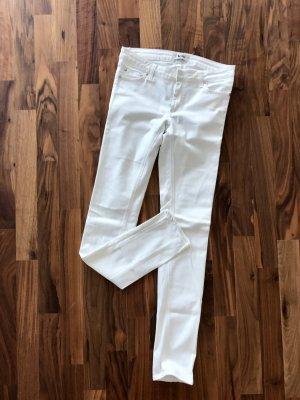 ACNE Jeans Stretch in weiß 28/32