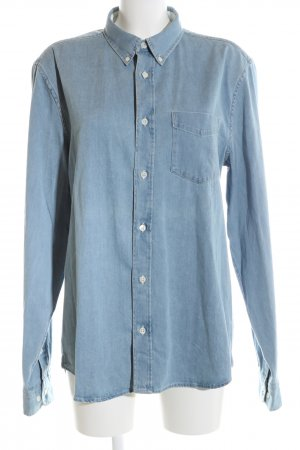 Acne Jeanshemd blau Casual-Look