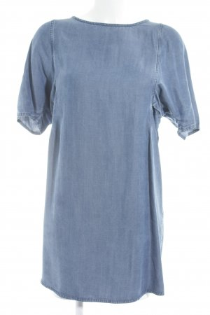 Acne Denim Dress pale blue minimalist style
