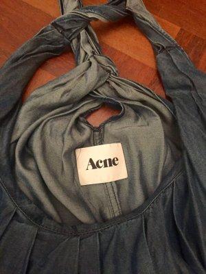 ACNE Jeanskleid mit tiefem Rückenausschnitt