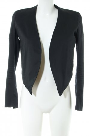 Acne Kurz-Blazer schwarz Business-Look
