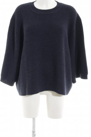 Acne Short Sleeve Sweater black street-fashion look