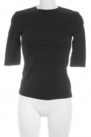 Acne Short Sleeve Sweater black casual look