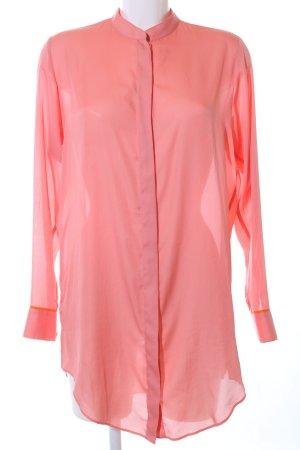 Acne Langarm-Bluse pink Casual-Look