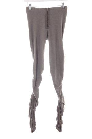 Acne Leggings marrone-grigio stile casual
