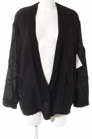Acne Long-Blazer schwarz Casual-Look
