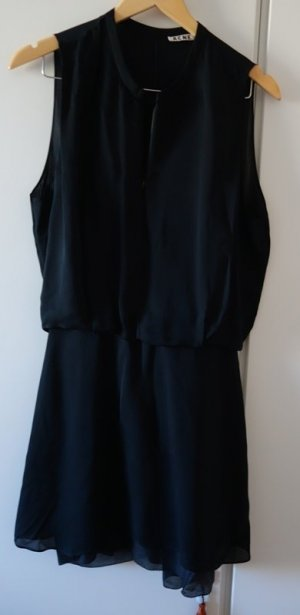 Acne Mini Dress black silk
