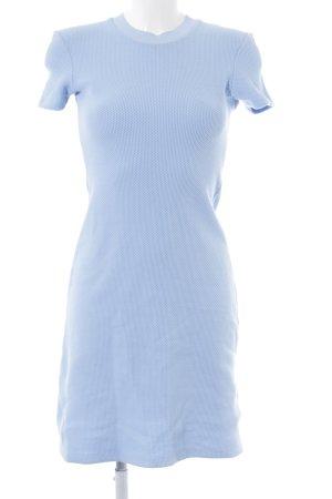 Acne Abito midi azzurro Motivo a maglia leggera stile casual