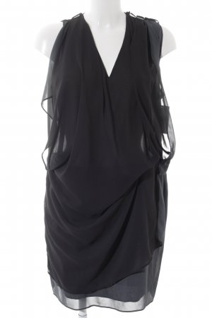 Acne Midi Dress black-grey elegant